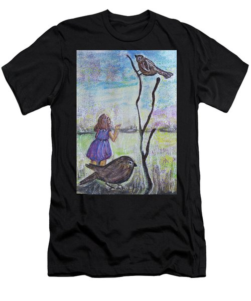 Fly, Fly Away Men's T-Shirt (Athletic Fit)