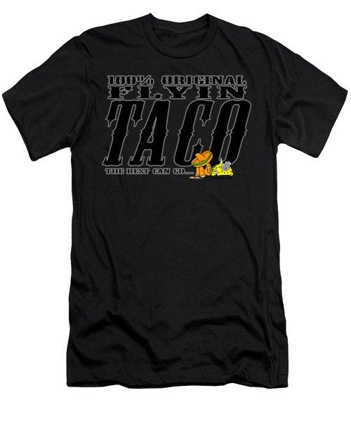 Flyin Taco 005 Men's T-Shirt (Athletic Fit)