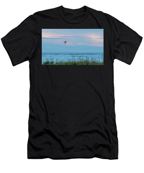Flying High Over The Pacific Men's T-Shirt (Athletic Fit)