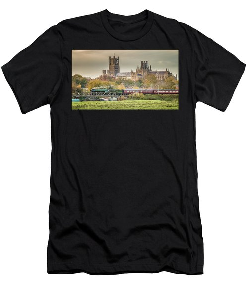 Flying Scotsman At Ely Men's T-Shirt (Athletic Fit)
