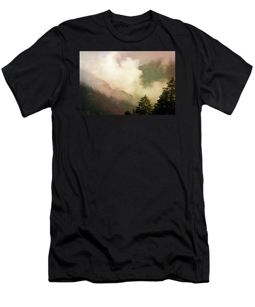 Fog Competes With Sun Men's T-Shirt (Athletic Fit)