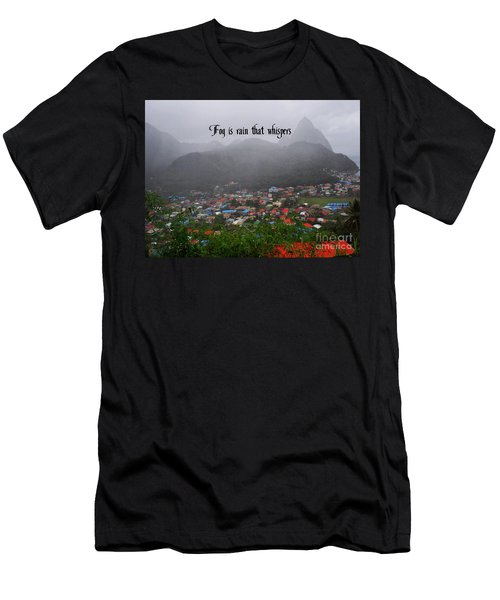 Men's T-Shirt (Slim Fit) featuring the photograph Fog by Gary Wonning