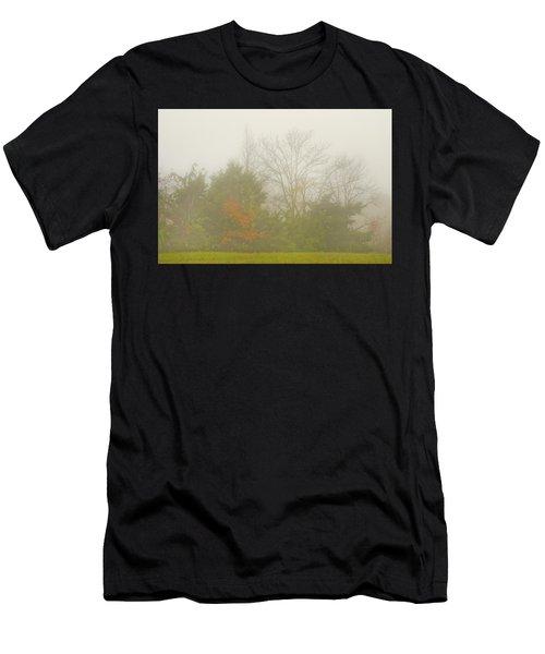 Fog In Autumn Men's T-Shirt (Athletic Fit)