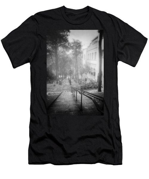 Fog In Montmartre Men's T-Shirt (Athletic Fit)