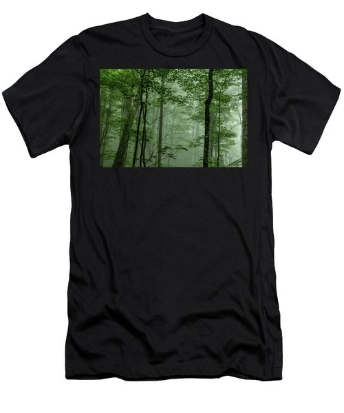 Fog In The Forest Men's T-Shirt (Athletic Fit)