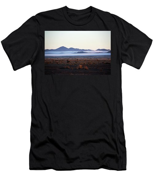 Fog In The Peloncillo Mountains Men's T-Shirt (Athletic Fit)