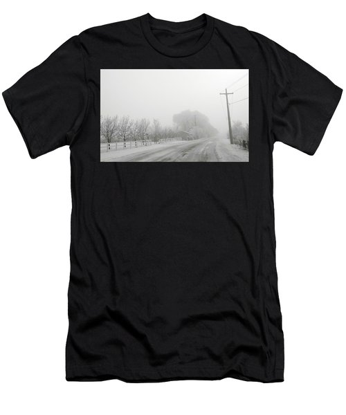 Fog On Floweree Dr Men's T-Shirt (Athletic Fit)