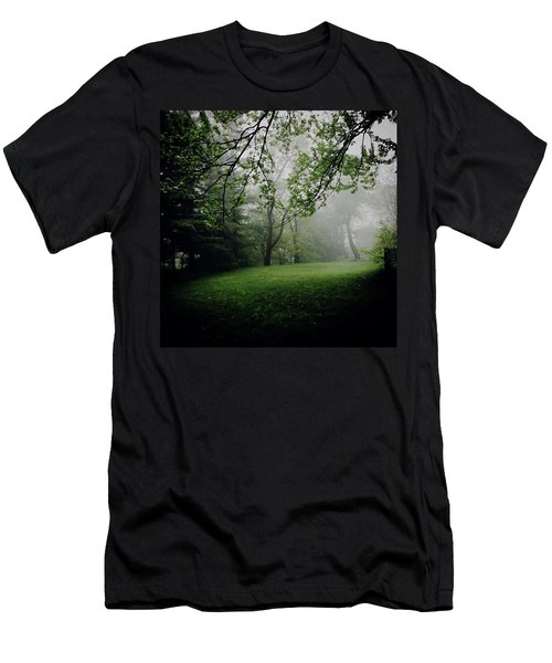 Fog On The Green Men's T-Shirt (Athletic Fit)