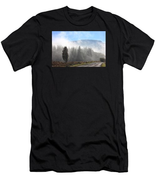 Fog On The Road To Fintry Men's T-Shirt (Athletic Fit)
