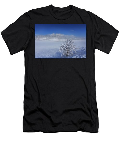 Fog Over The Flatirons Men's T-Shirt (Athletic Fit)