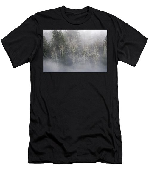 Foggy Alders In The Forest Men's T-Shirt (Athletic Fit)