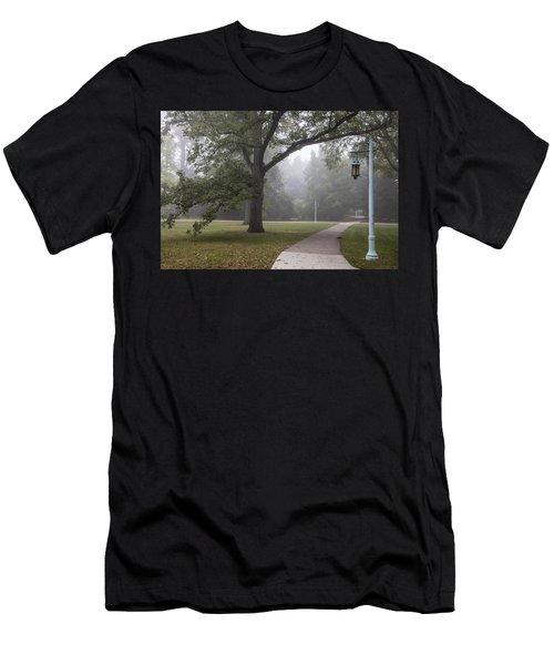 Foggy Campus  Men's T-Shirt (Athletic Fit)