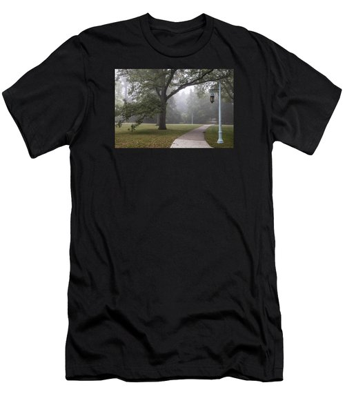 Foggy Campus  Men's T-Shirt (Athletic Fit)