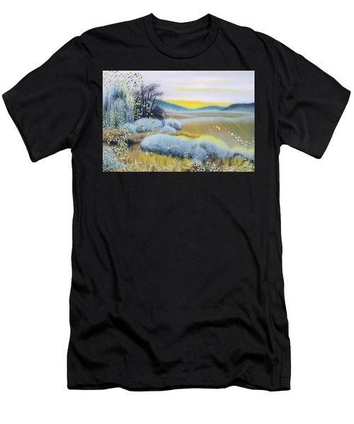 Foggy Dawn Through Window Men's T-Shirt (Athletic Fit)