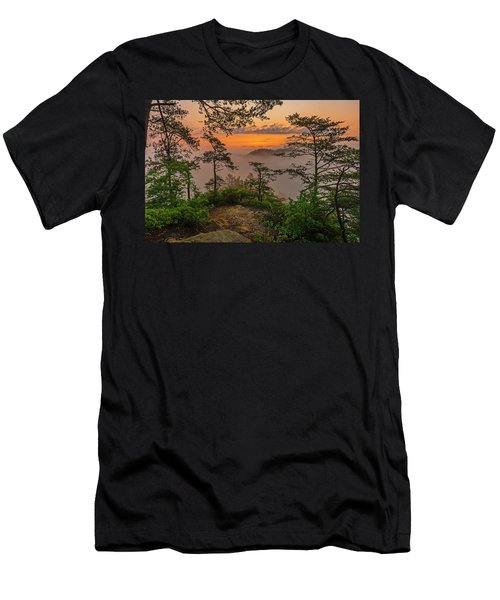Foggy Dawn. Men's T-Shirt (Athletic Fit)