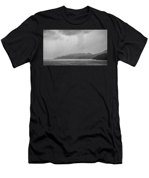Foggy Island Men's T-Shirt (Athletic Fit)