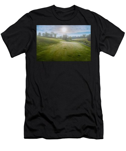 Foggy Look Back Men's T-Shirt (Athletic Fit)