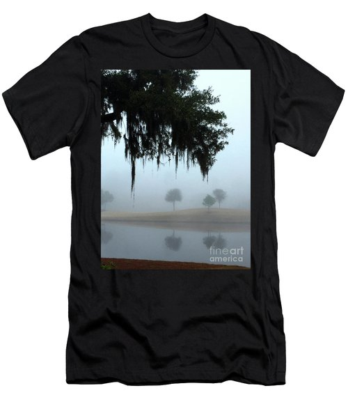 Foggy Morn Reflections Men's T-Shirt (Athletic Fit)