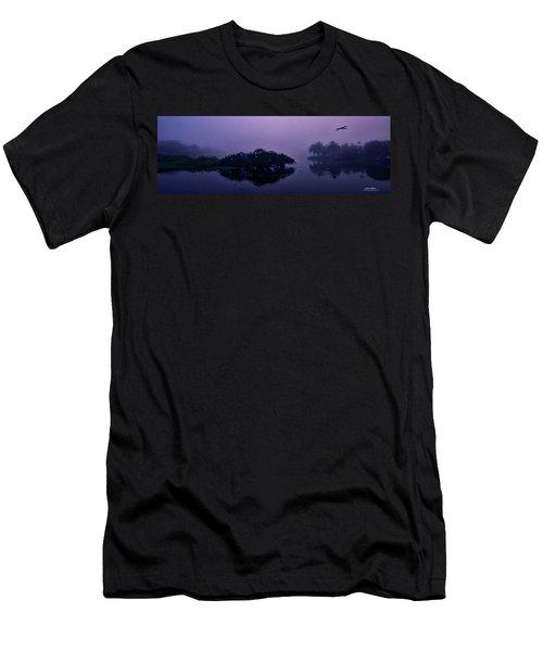 Foggy Morning Men's T-Shirt (Slim Fit) by Don Durfee