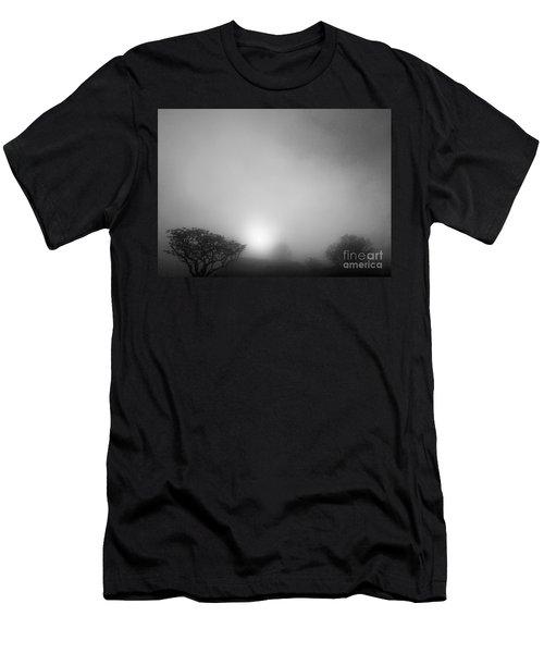 Foggy Morning Sunrise Men's T-Shirt (Athletic Fit)