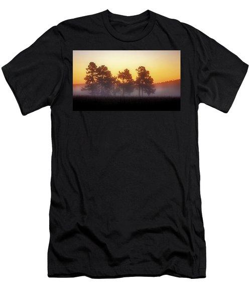 Foggy Ozark Morning  Men's T-Shirt (Athletic Fit)
