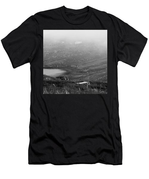 Foggy Scottish Morning Men's T-Shirt (Athletic Fit)
