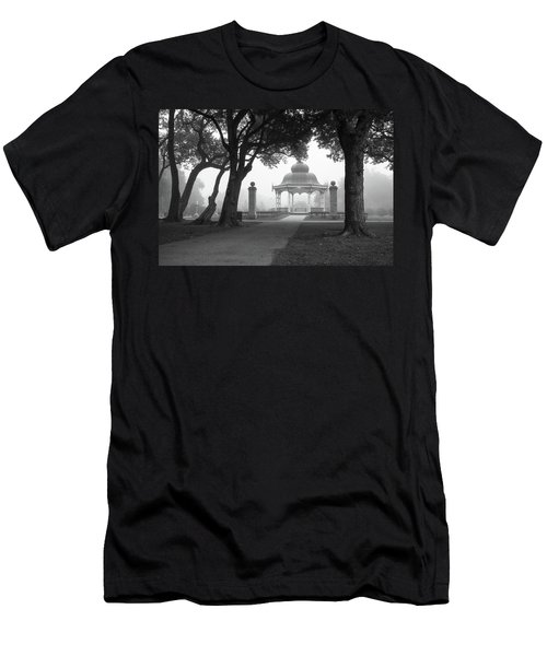 Foggy Tower Grove Men's T-Shirt (Athletic Fit)