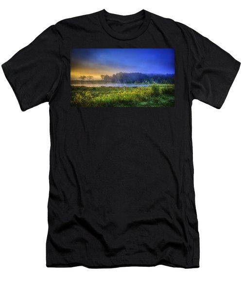 Fogy Sunrise  Men's T-Shirt (Athletic Fit)