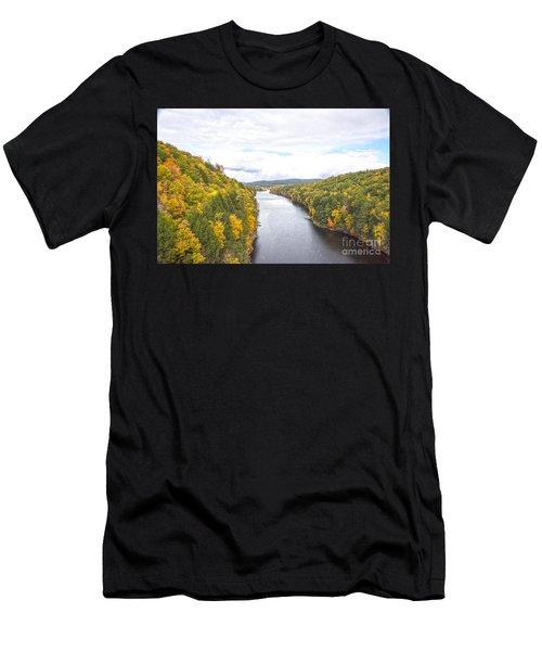 Foliage Clouds Men's T-Shirt (Athletic Fit)