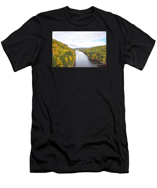 Foliage Clouds Men's T-Shirt (Athletic Fit)
