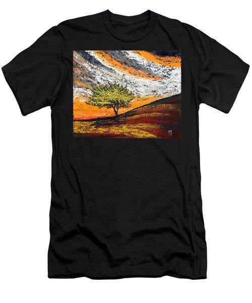 Follow The Clouds Men's T-Shirt (Athletic Fit)