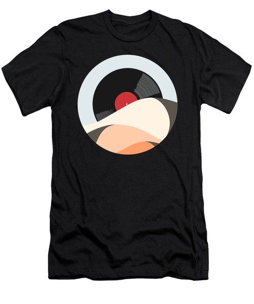 Follow The Music Men's T-Shirt (Athletic Fit)