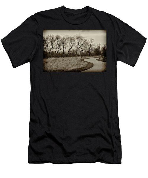 Follow The Path Men's T-Shirt (Athletic Fit)