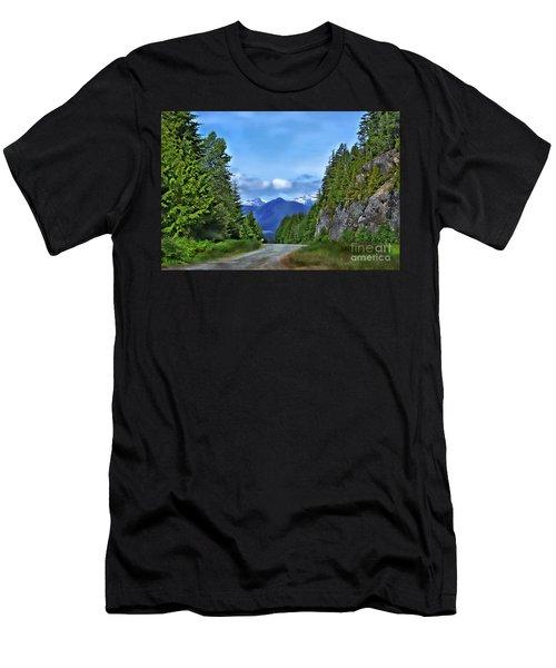 Follow The Road Men's T-Shirt (Athletic Fit)
