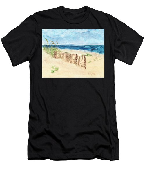 Folly Field Fence Men's T-Shirt (Athletic Fit)