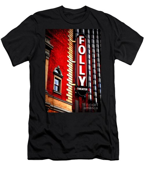 Folly Theater Men's T-Shirt (Athletic Fit)