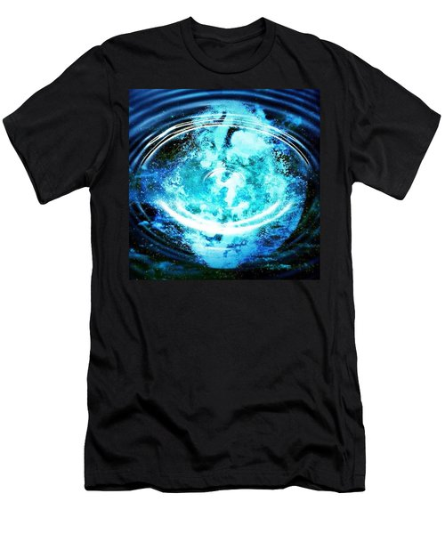 Fool Moon Reflection Men's T-Shirt (Athletic Fit)