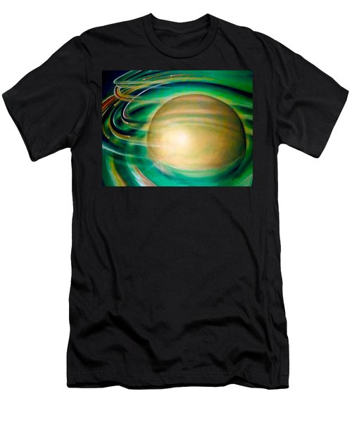 Men's T-Shirt (Athletic Fit) featuring the painting Fools Gold by Thomas Lupari