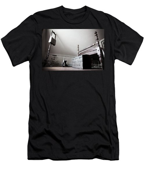 Foot Of The Bed Men's T-Shirt (Slim Fit) by Randall Cogle
