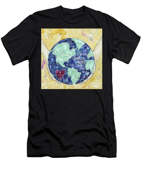 For He So Loved The World Men's T-Shirt (Athletic Fit)