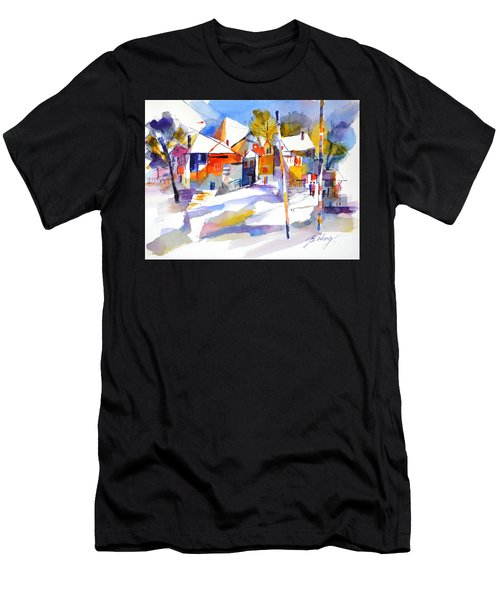 For Love Of Winter #2 Men's T-Shirt (Athletic Fit)