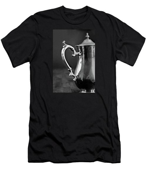 Men's T-Shirt (Slim Fit) featuring the photograph For The Love Of Tea by Jean Haynes