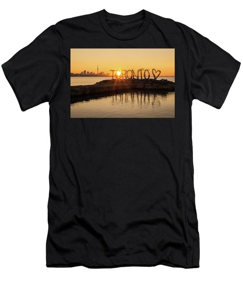 For The Love Of Toronto Men's T-Shirt (Athletic Fit)