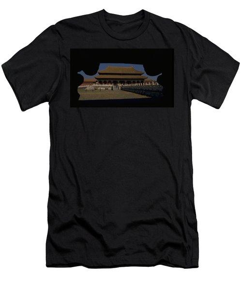 Forbidden City, Beijing Men's T-Shirt (Athletic Fit)