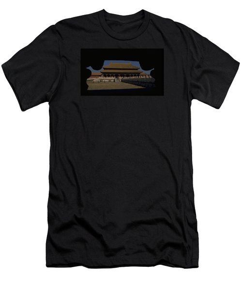 Forbidden City, Beijing Men's T-Shirt (Athletic Fit)