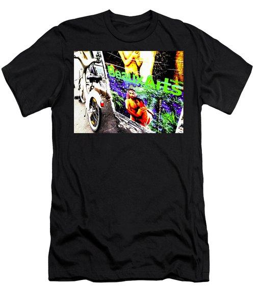 Forbidden Love In Paris Men's T-Shirt (Athletic Fit)