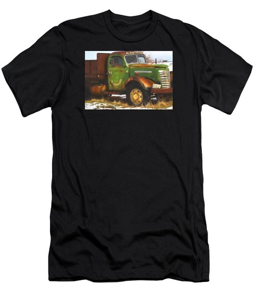 Ford Farm Truck Painterly Impressions Men's T-Shirt (Athletic Fit)