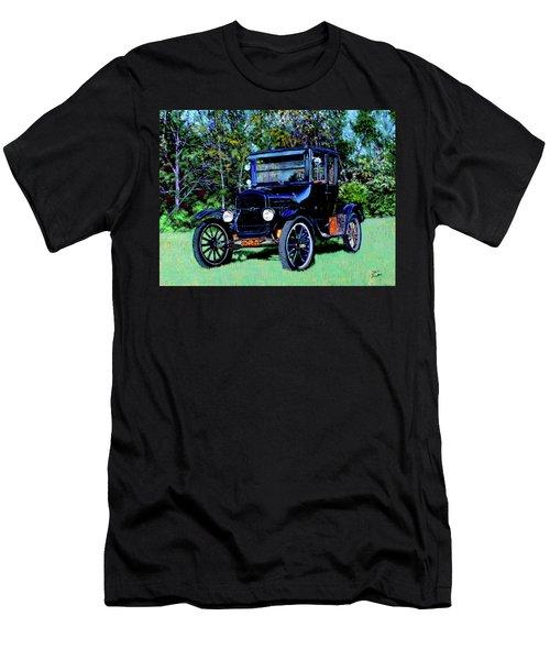 Ford Model T Men's T-Shirt (Slim Fit) by Stan Hamilton