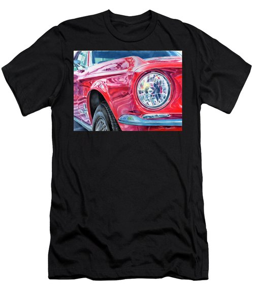 Ford Mustang Men's T-Shirt (Athletic Fit)