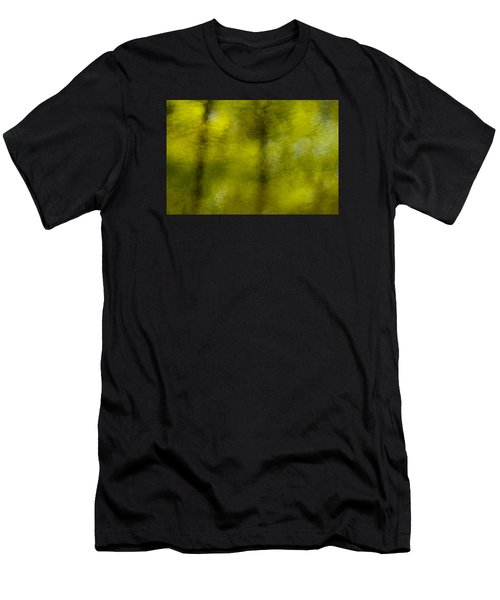 Forest Abstract Reflection Men's T-Shirt (Athletic Fit)
